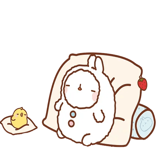 Molang lalalalala - Sticker 4