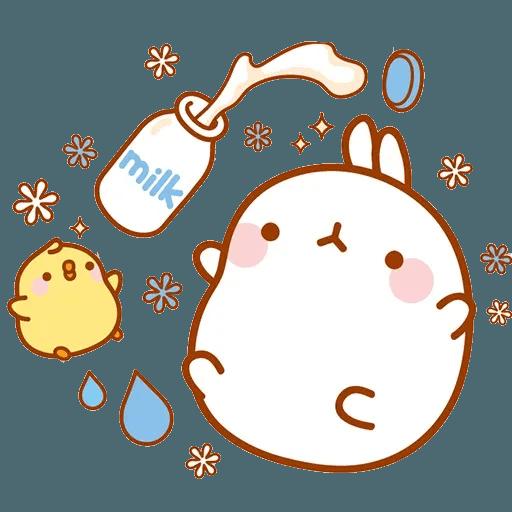 Molang lalalalala - Sticker 11