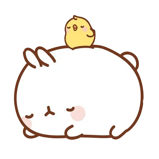 Molang lalalalala - Sticker 18
