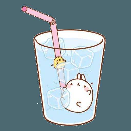 Molang lalalalala - Sticker 7