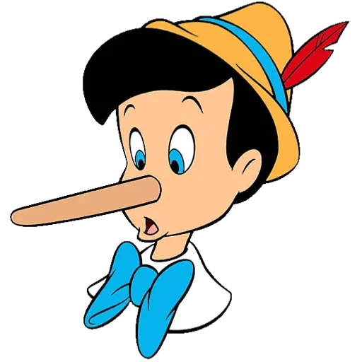 Pinocho PeGoFe  - Sticker 2
