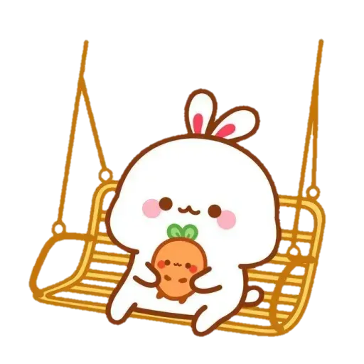 Cute Rabbit - @CelebritiesMood - Sticker 4