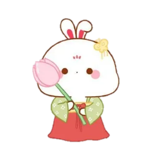 Cute Rabbit - @CelebritiesMood - Sticker 29