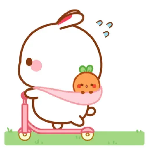 Cute Rabbit - @CelebritiesMood - Sticker 26