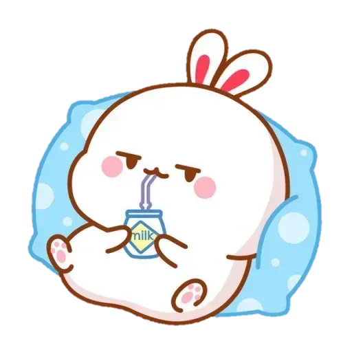 Cute Rabbit - @CelebritiesMood - Sticker 6