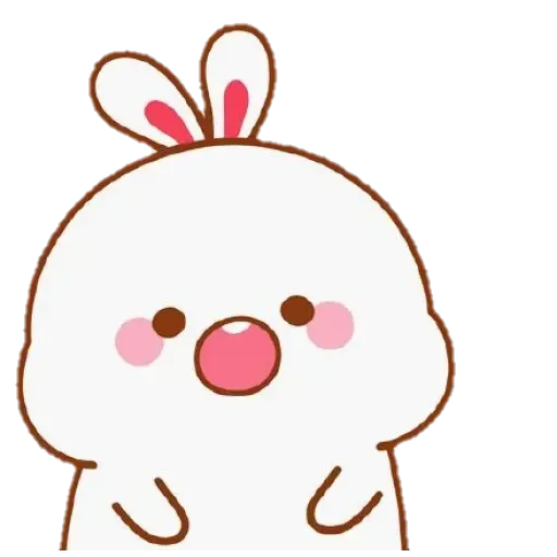 Cute Rabbit - @CelebritiesMood - Sticker 16