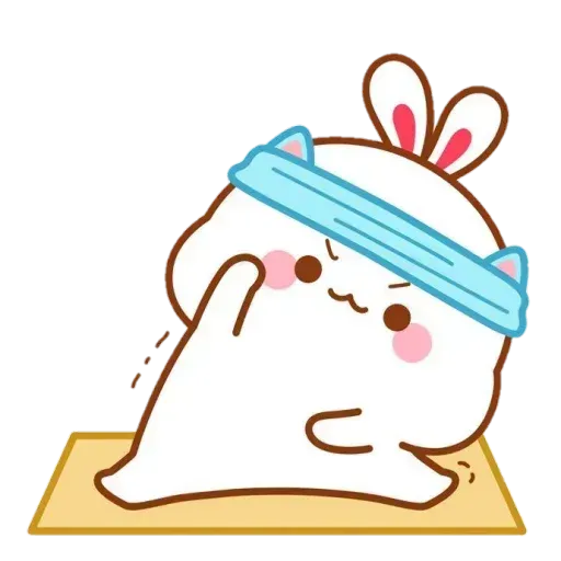 Cute Rabbit - @CelebritiesMood - Sticker 5