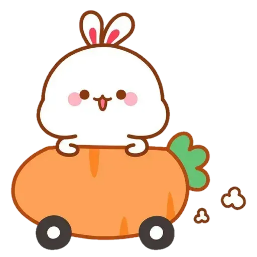 Cute Rabbit - @CelebritiesMood - Sticker 14