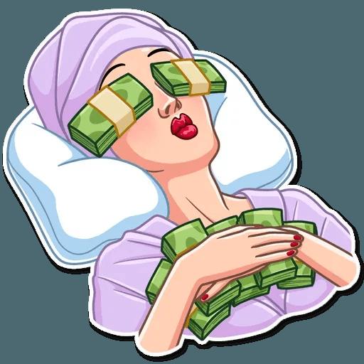 Mafia Girl - Sticker 12