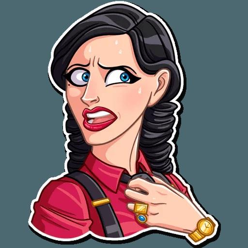 Mafia Girl - Sticker 5