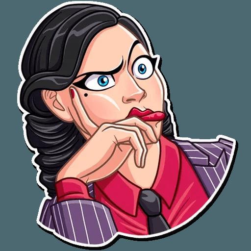 Mafia Girl - Sticker 9
