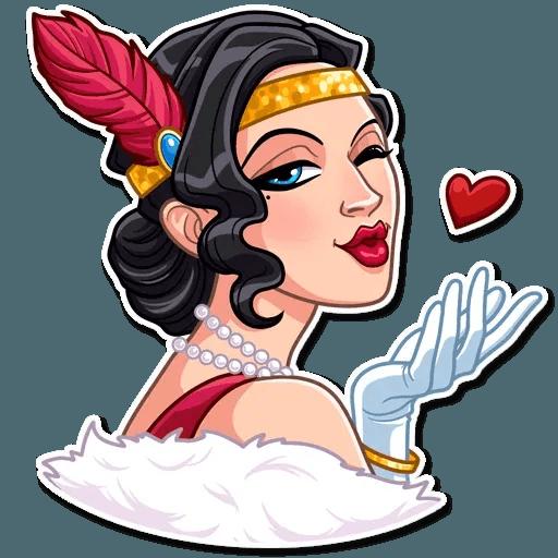 Mafia Girl - Sticker 3