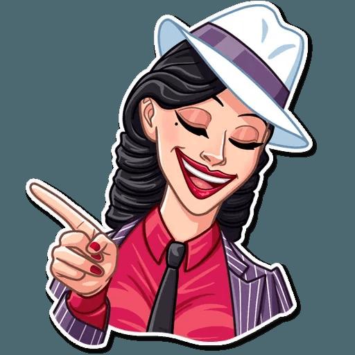 Mafia Girl - Sticker 11