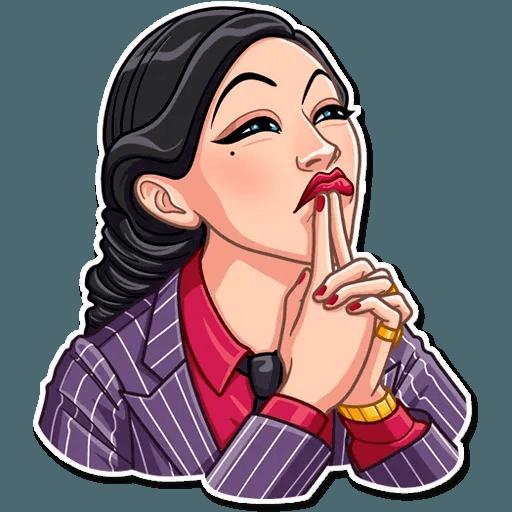 Mafia Girl - Sticker 17