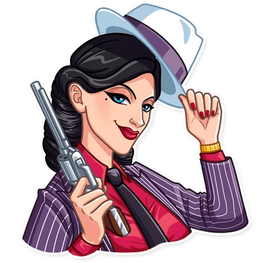 Mafia Girl - Sticker 8