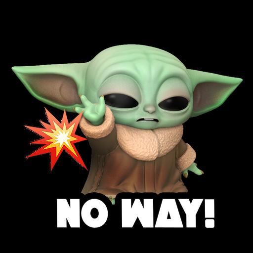 Baby Yoda Star Wars - Sticker 6
