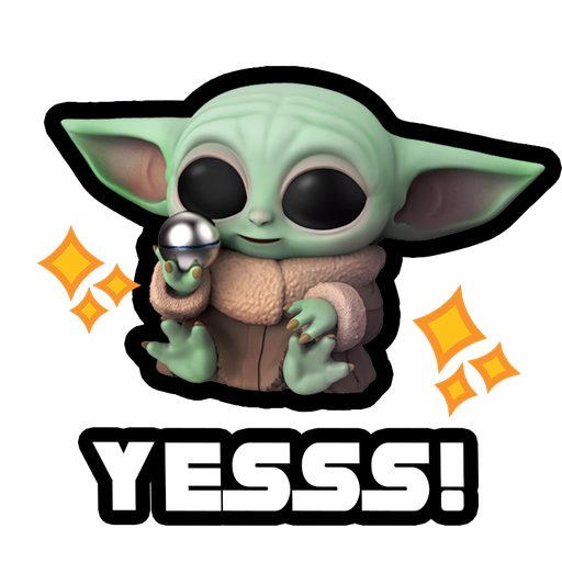 Baby Yoda Star Wars - Sticker 4