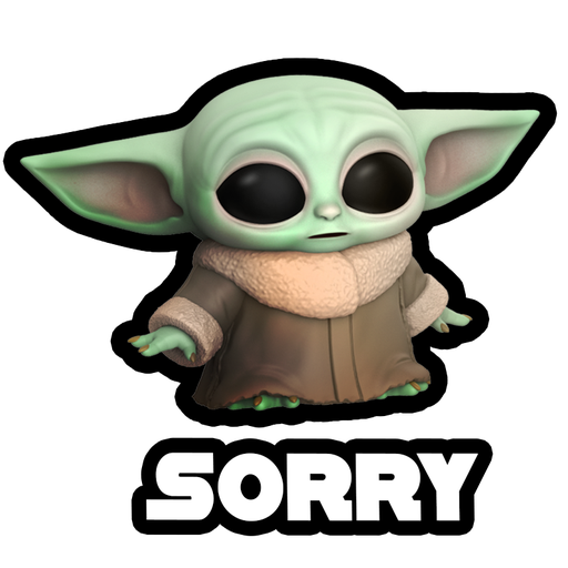 Baby Yoda Star Wars - Sticker 5