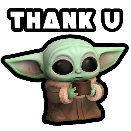 Baby Yoda Star Wars - Sticker 2