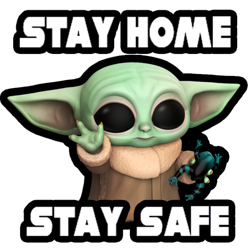 Baby Yoda Star Wars - Sticker 1