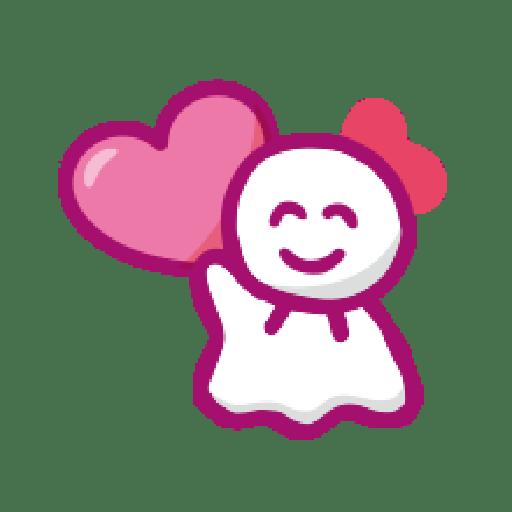 KEROKEROKEROPPI Emoji (Love) - 2 - Sticker 16