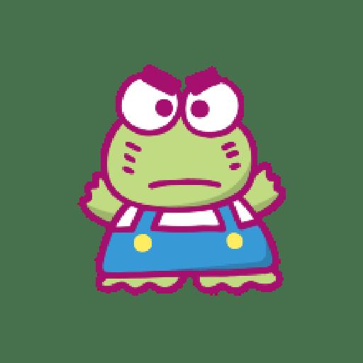 KEROKEROKEROPPI Emoji (Love) - 2 - Sticker 14