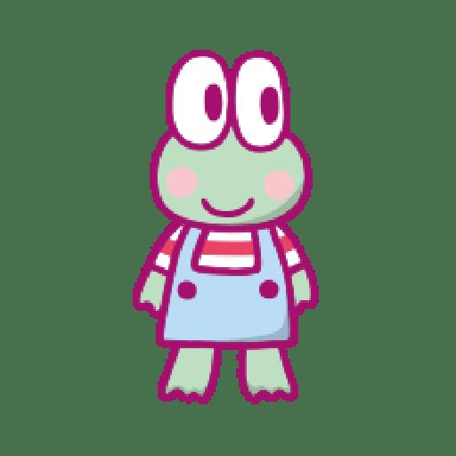 KEROKEROKEROPPI Emoji (Love) - 2 - Sticker 13
