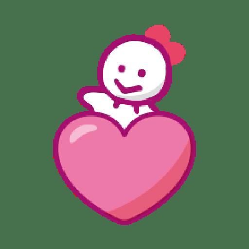 KEROKEROKEROPPI Emoji (Love) - 2 - Sticker 5