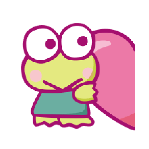 KEROKEROKEROPPI Emoji (Love) - 2 - Sticker 8