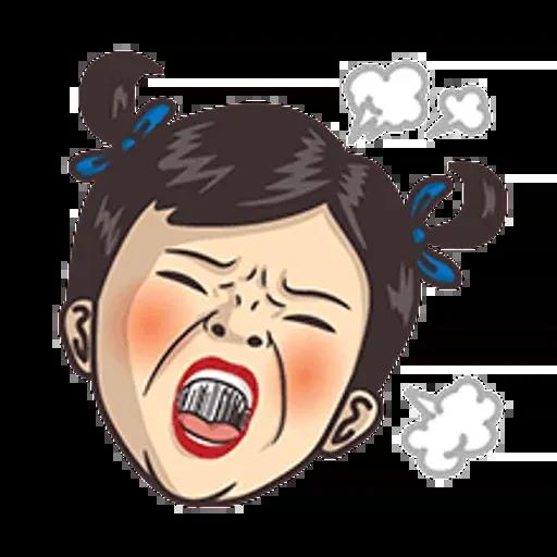 小學課本表情貼2 - Sticker 1