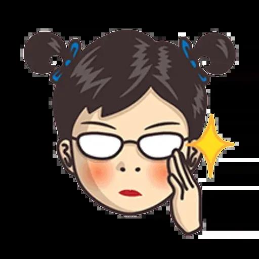 小學課本表情貼2 - Sticker 6
