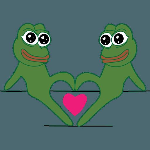PEPE LOVE - Sticker 5