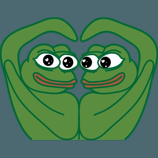 PEPE LOVE - Sticker 4