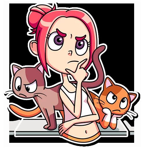 Catlady - Sticker 28
