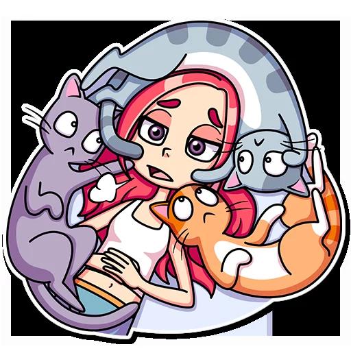 Catlady - Sticker 13