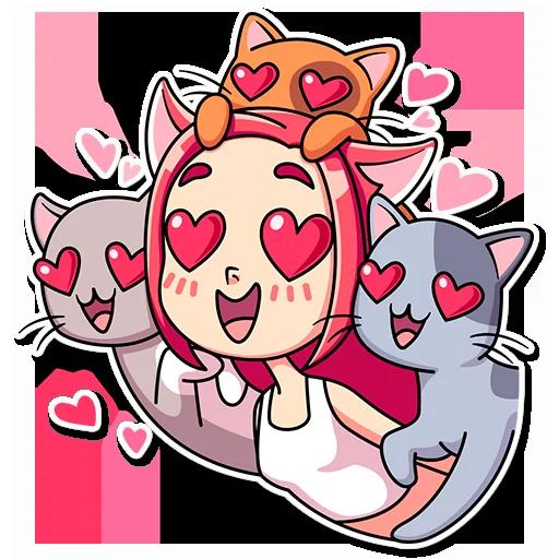 Catlady - Sticker 30