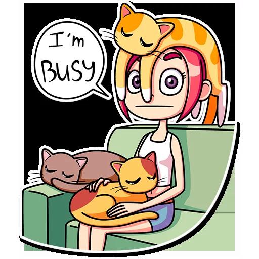 Catlady - Sticker 21