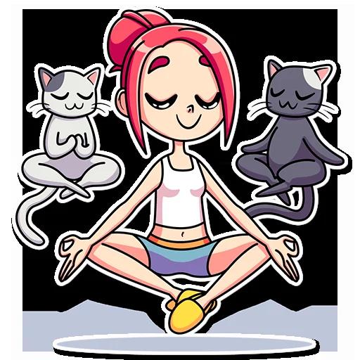 Catlady - Sticker 15