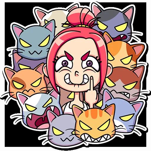 Catlady - Sticker 12