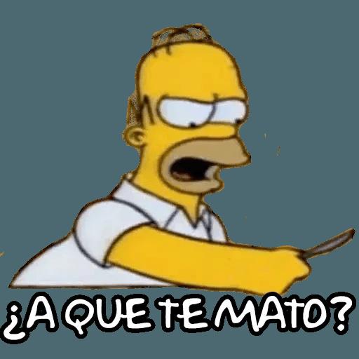 Simpsons - Sticker 2