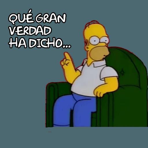 Simpsons - Sticker 4