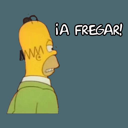Simpsons - Sticker 3