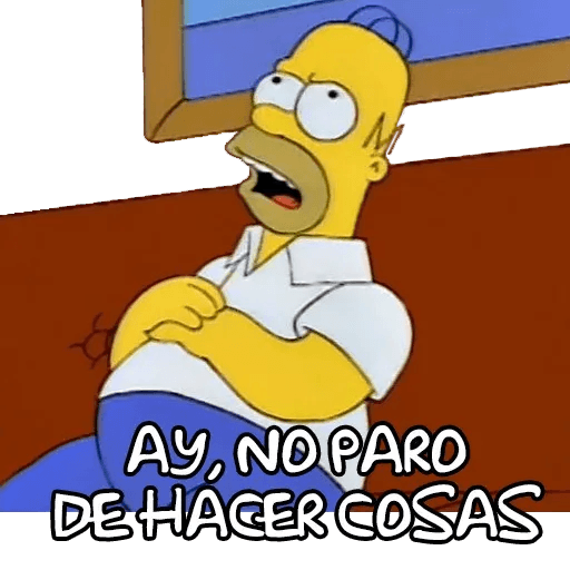 Simpsons - Sticker 5