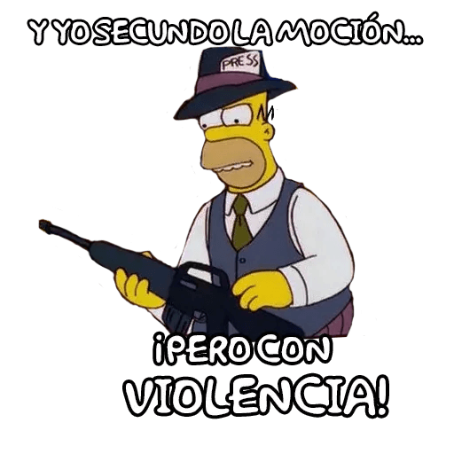 Simpsons - Sticker 12