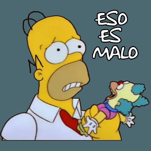 Simpsons - Sticker 7