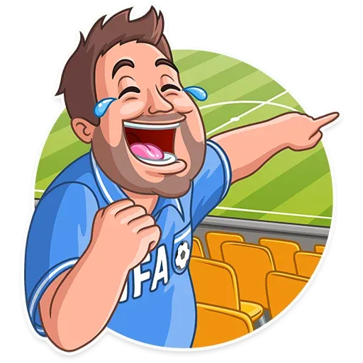 Football Fan - Sticker 5