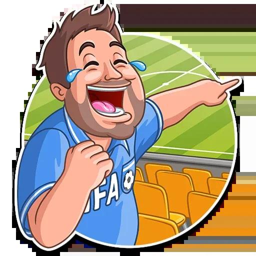 Football Fan - Sticker 5