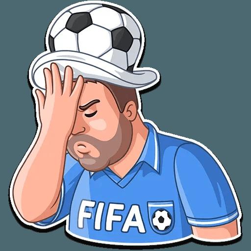 Football Fan - Sticker 20