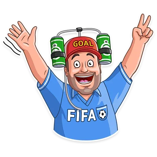 Football Fan - Sticker 2