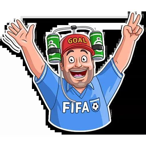 Football Fan - Sticker 2